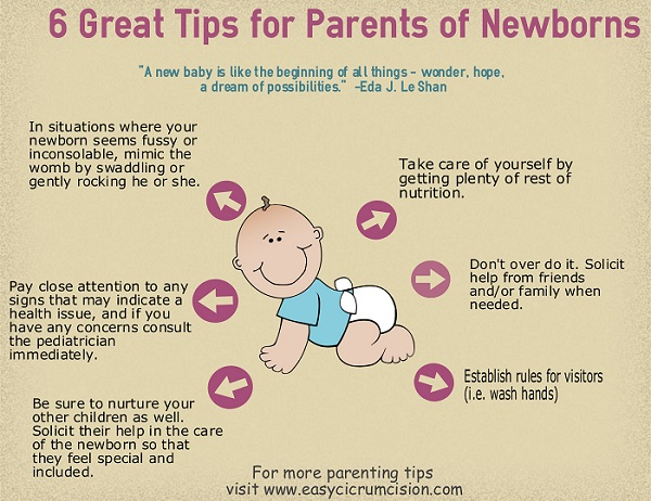 6 Great Tips for Parents of Newborns